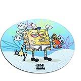 8' SpongeGlob Dab Mat - Spongebob - Mousepad Style Dabmat | Dabpad | Rigmat | Dabmatz - 420 Friendly, Stoner Gift