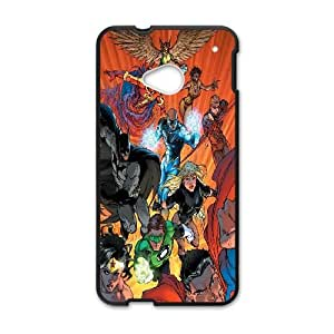 HTC One M7 Cell Phone Case Black_Justice League of America TR2482960