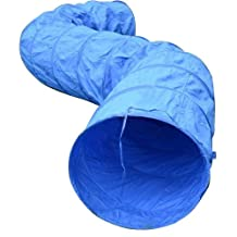 Pawhut 16' Pet Dog Fitness / Agility Obedience Training Tunnel - Blue by Pawhut