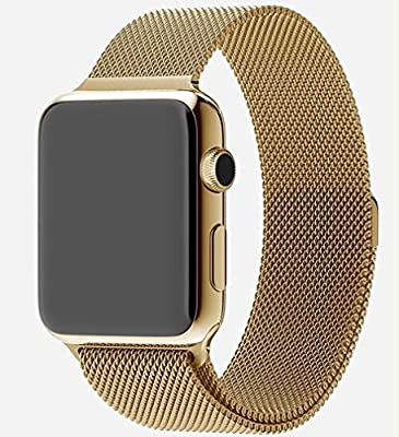 Apple Watch Limited Edition 42mm 24-karat Gold Plated with Milanese Loop Band Original Apple