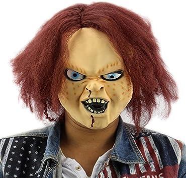 Máscara Killer Doll Killer de Chucky - Perfecto para Carnaval ...