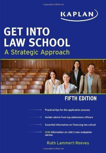 Get Into Law School (Kaplan Test Prep) by Ruth Lammert-Reeves (2011-02-01)