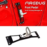 Jeep Wrangler Door Hinge Step Metal Folding Foot Peg Door Step - Easy Access To Car Rooftop For JK & JKU 2007-2018, Jeep Doorstep Foot Rest Folding Foot Pedal Peg Side Step