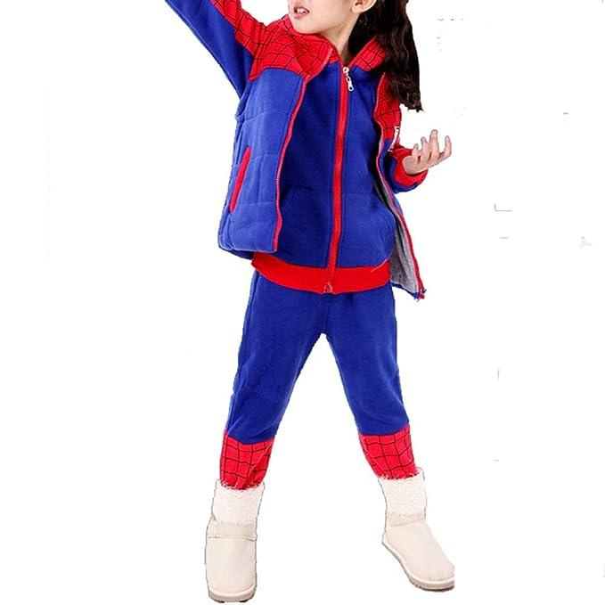 Otoño E Invierno, Ropa Infantil, Niñas, Traje De Spiderman ...