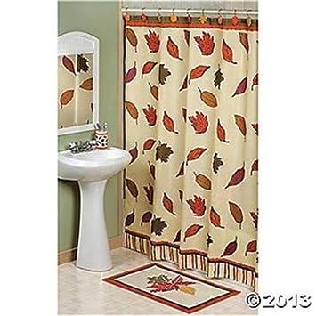 Fall Leaves Autumn Shower Curtain
