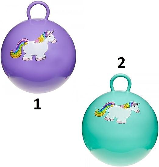 Générique - – Balón Saltador Unicornio 45 cm – Mod1 Morado – Juego ...