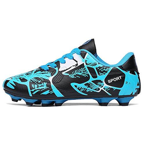 Xing Lin Botas De Fútbol Zapatillas De Entrenamiento Interior Y Exterior Clavos Los Zapatos Rotos Los Hijos Varones Estudiantes Masculinos Y Femeninos 163 sky blue