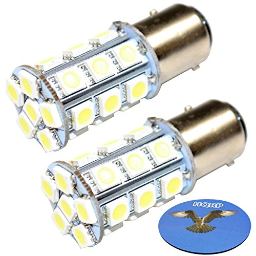 HQRP 2-Pack LED Light Bulb for Hella Marine Series 2984 2 NM All Round/Anchor Lamp, 8GA 003 488-121 / 8GA 003 488-301 / 8GA 003 488-131 / 8GA 003 488-311 Replacement + HQRP Coaster