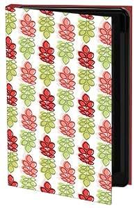 Keka Julie Hamilton Cherry Lime - Funda de diseño (rígida, tipo libro) para iPhone 5, diseño de hojas