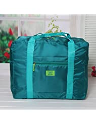 WaterProof Travel Bag Large Capacity Multifunctional Pouch Luggage Packing Storage Bag Zipper Tidy Clothes Luggage Poch,Blue