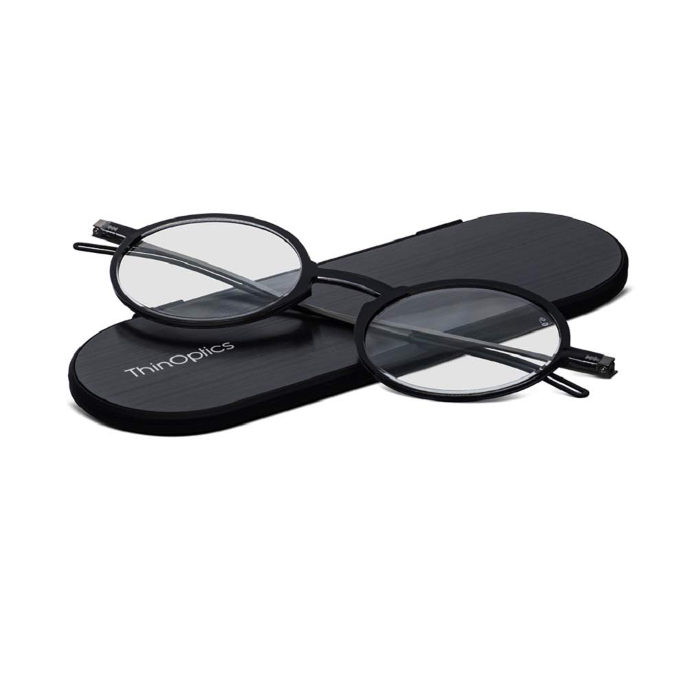Clothing Glasses Sunglass Case Holder with Magnetic Closer Feather Eyewear & Accessories