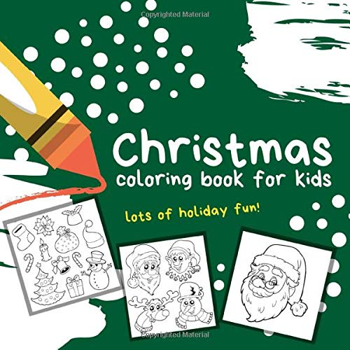 Christmas Coloring Book For Kids Jumbo Holiday Coloring Pages Excellent Stocking Stuffer Gift Studios Coloring Pages 9781708723798 Amazon Com Books
