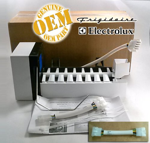 Electrolux Freestanding Ice Maker - 5303918277 OEM FACTORY ICE MAKER KIT WITH 3 OR 4 PIN ADAPTER FOR FRIGIDAIRE ELECTROLUX GIBSON KELVINATOR WESTINGHOUSE & OTHERS by Electrolux