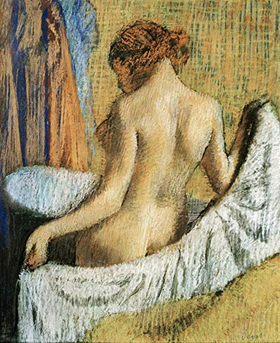 Edgar Degas After The Bath Private Collection 30