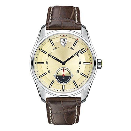 Ferrari Mens Watch Analog Casual Quartz Watch 0830232