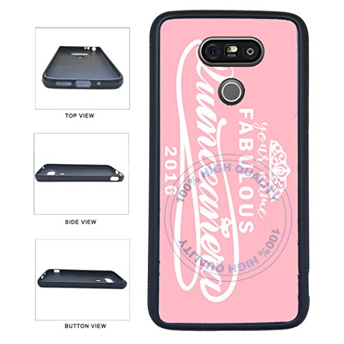 (BleuReign(TM) Personalized Custom Name 2017 Quinceanera TPU RUBBER SILICONE Phone Case Back Cover For LG G5)