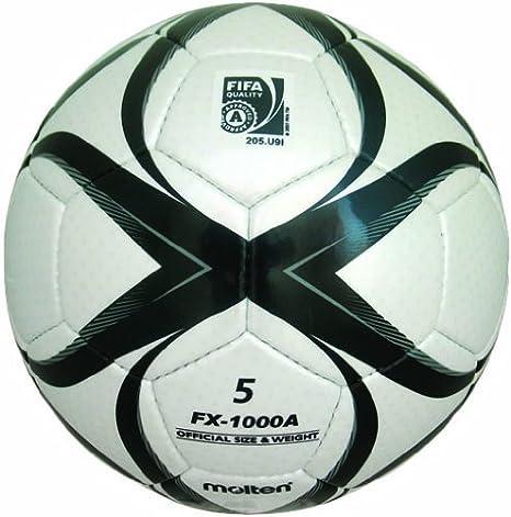MOLTEN fx-1000 Match, balón de fútbol FIFA Aprobado (Negro/Blanco ...