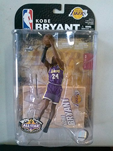 ports Picks Series 15 Action Figure Kobe Bryant (Los Angeles Lakers) ()