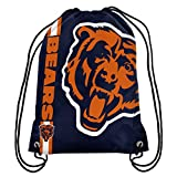 NFL Chicago Bears Big Logo Drawstring Backpack, 18 In. X 13.5 In.