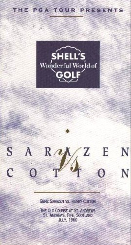 Classic Golf Matches from Around the World: Cotton vs. Sarazen [VHS]