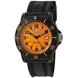 Luminox Men's 'Ops Carbon' Swiss Quartz Resin and Rubber Automatic Watch, Color:Black (Model: 8809.GG)