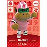 Nintendo Animal Crossing Happy Home Designer Amiibo Card Rocket 200/200 USA Version