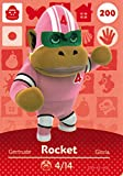 Nintendo Animal Crossing Happy Home Designer Amiibo Card Rocket 200/200 USA Version