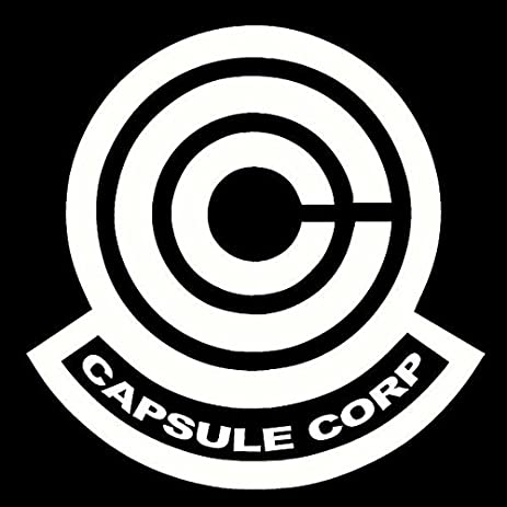 Amazon Dragon Ball Z Capsule Corp Decal Sticker For Room Car