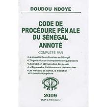 Code de procédure pénale du Sénégal annoté
