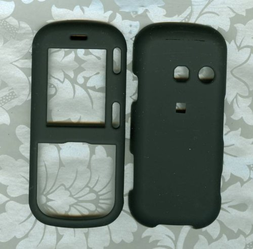 Black Hard Faceplate Cover Phone Case for Lg Cosmos Vn250 Rumor 2 Lx265 (Lg Cosmos Vn250 Case compare prices)