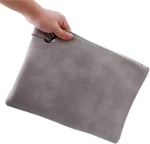 Ogquaton Bolso de Mano Grande para Mujer Monedero Bolso de