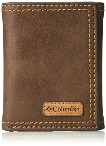 Men's RFID Leather Wallet - Big Skinny Trifold Vertical Security Protection Credit Card Slots