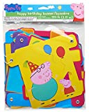 American Greetings Girls Peppa Pig Birthday Party Banner