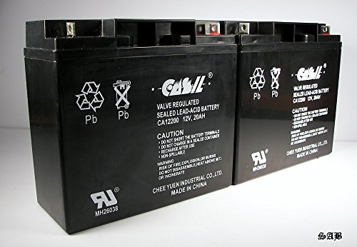 Price comparison product image (2) Casil 12v 20ah for Notifier NFS-320 Control Panel