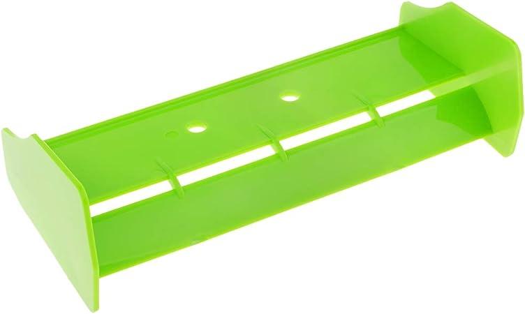 Homyl 1/10 Alerón Trasero ala de Cola Rear Spoiler Tail Wing para HSP 94106 94107 94166 RC Coche - Verde: Amazon.es: Juguetes y juegos
