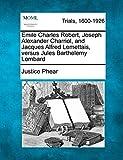 Emile Charles Robert, Joseph Alexander