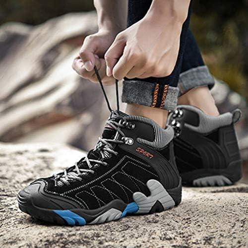通気性設計 防滑 アウトドアシューズ トレッキングシューズ メンズ ローカット 歩きやすい 疲れにくい キャンプ レジャー 登山靴 幅広 滑り止め 履きやすい 登山道 防撞 耐摩耗 衝撃吸収 黒 ハイキングシューズ