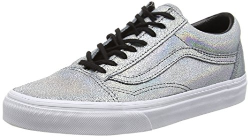 Argent Baskets Vans Old matte Adulte Basses Skool Mixte Silver Silver Iridescent qHnBnUYWw