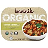 Beetnik Foods Organic Gf Chicken Meatballs, 11.5 Ounce (Pack of 08)