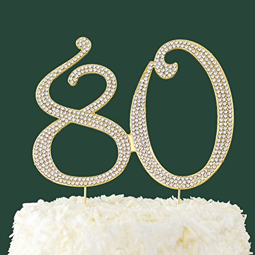 Excellent 80Th Birthday Cake Toppers Shop 80Th Birthday Cake Toppers Online Funny Birthday Cards Online Aboleapandamsfinfo