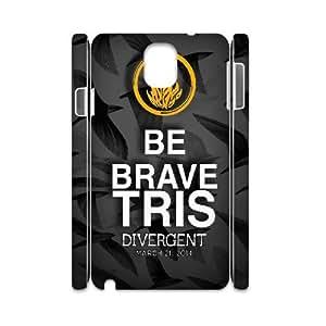 3D Samsung Galaxy Note 3 Cases Divergent Words, Divergent [White]