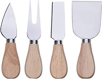 4-Piece Earabella Cheese Knives Set