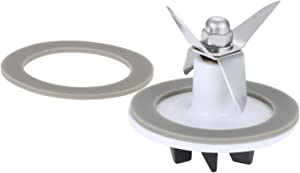 SPB-456-2 Blender Cutting with 2 Rubber Sealing Gasket, Replacement Fit for Cuisinart Blenders Models BFP703 BFP-703 BFP703B BFP-703CH SPB7 SPB-7BK CB8 CB9 BFP-703