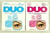 "2 DUO Eyelash Adhesive (Glue) - ""White/dark Set """