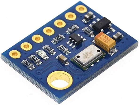 Hailege MS5611 MS5611-01BA03 GY-63 Atmospheric Pressure Sensor Module Meter Altimeter Sensor Module Electronic DIY Board IIC SPI 24Bit AD for Arduino