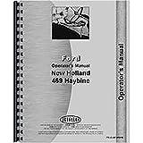 New Holland 469 Haybine Mower Operators Manual