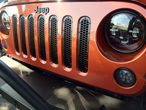 Jeep Logo Emblem Decal | 3D Badge | Single Pack (Black) Wrangler, Grand Cherokee, Liberty, Compass Models