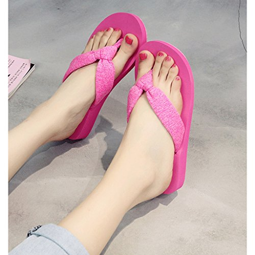 Femeninas de Zapatillas del Playa Negras Resbal del Verano del pie Otqx6vdqw