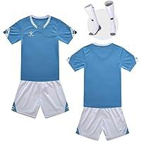 LISIMKEM 2020-2021 Kids//Youths Away Soccer Jersey//Short//Socks Colour Navy