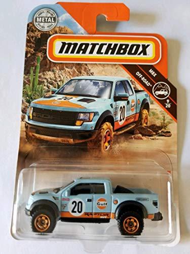 (Matchbox 2018 MBX Off Road 9/20 - '10 Ford F-150 SVT Raptor (Gulf))